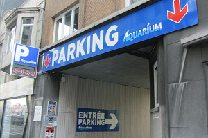 Parking Aquarium - Liège